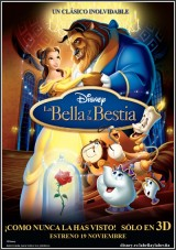 Ver La bella y la bestia (1991) (HDRip) [torrent] online (descargar) gratis.