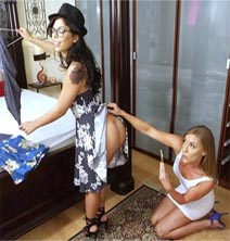 Ver Gina Valentina & Kate Linn-Try This One On (HD) (Inglés) [flash] online (descargar) gratis.
