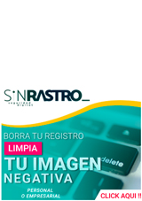 Sin Rastro SPA - Borramos datos de Internet