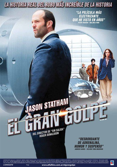 Ver El Gran Golpe (The Bank Job) (2008) (Dvd Rip) (Latino) [flash] online (descargar) gratis.
