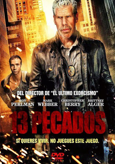 Ver 13 Sins (2014) (HD Rip 320p) (Latino) [flash] online (descargar) gratis.