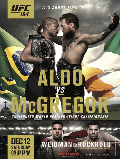 Ver UFC 194: Aldo vs. McGregor (2015) (HD Real 720) (Inglés) [flash] online (descargar) gratis.