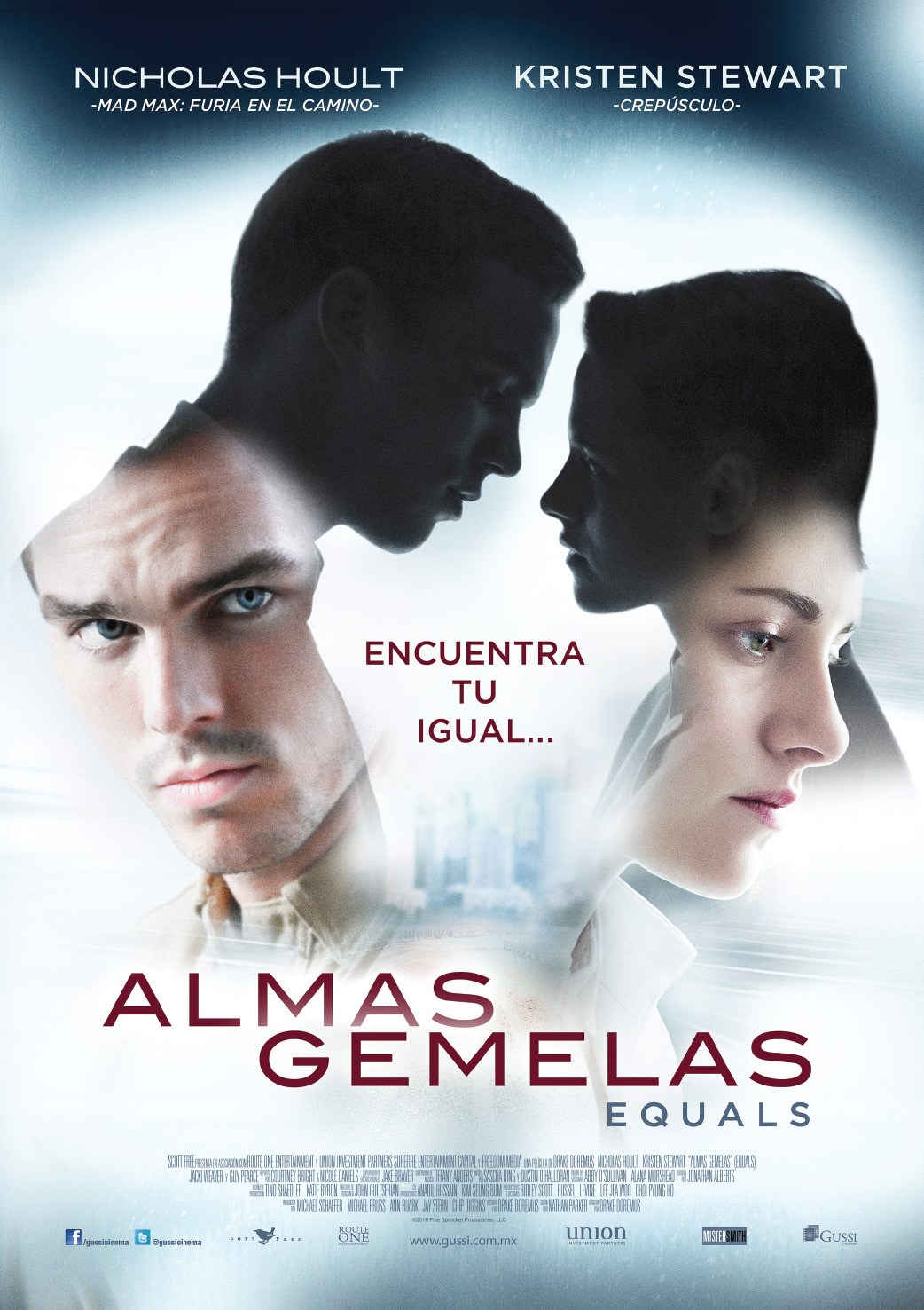 Ver Almas gemelas / Equals (2015) (HD) [flash] online (descargar) gratis.