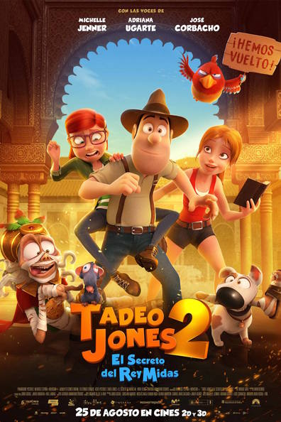 Ver Tadeo Jones 2: El secreto del rey Midas (2017) (HD Real 720pp) (Español) [flash] online (descargar) gratis.