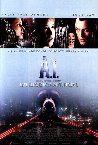 Ver A. I. Inteligencia Artificial (2001) (1080p) (Latino) [flash] online (descargar) gratis.