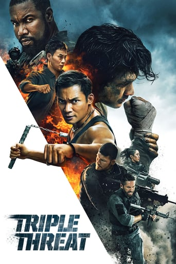 Ver Triple amenaza (2019) (Full HD 1080p) (Castellano) [flash] online (descargar) gratis.