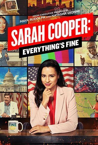 Ver Sarah Cooper: Everything's Fine (2020) (720p) (subtitulado) [flash] online (descargar) gratis.
