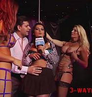 Ver3way PornReporter Try Sex In Sexclub On Camera (Latino) [flash] online (descargar) gratis.